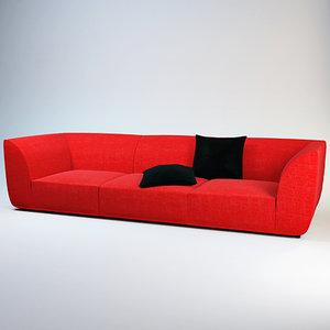sofa forum - linea 3d max