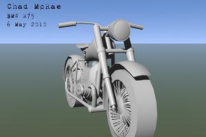 3d r75 motorcycle