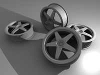 Racing rally rims