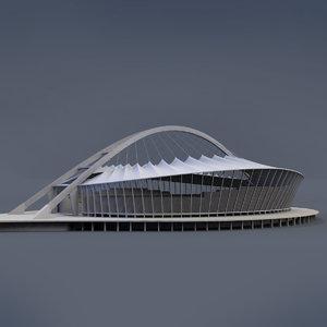 moses stadium 3d model