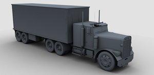3d max truck