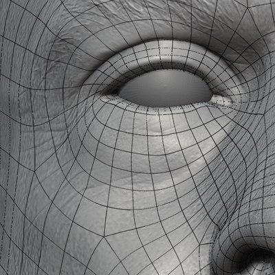 man head 3d model