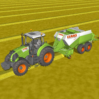 CLAAS AXION 830 BALER