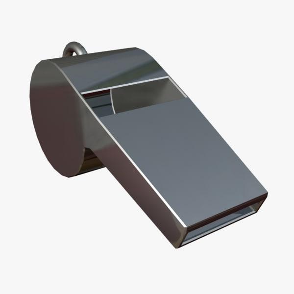 3d model whistle