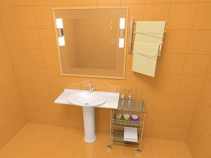 max bathroom furniture kit