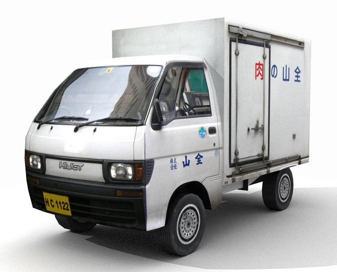 3d small truck