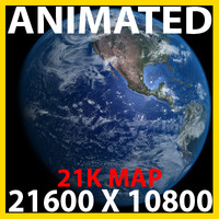 photoreal earth 3d model