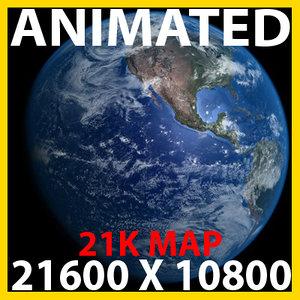 photoreal earth 3d model