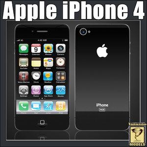 iphone 4 3d model