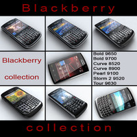 BlackBerry Collection 7 phones