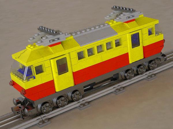 3d model deutsche bahn 7740 locomotive