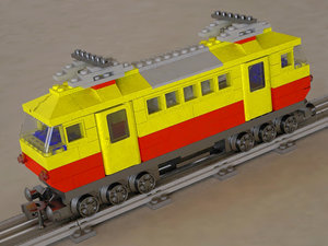 3d model deutsche bahn 7740 locomotive