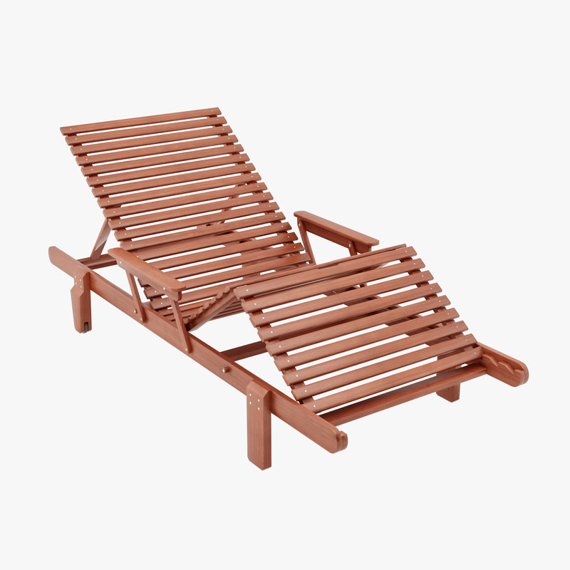 3d deck chair