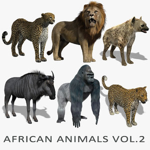 maya african animals vol 2