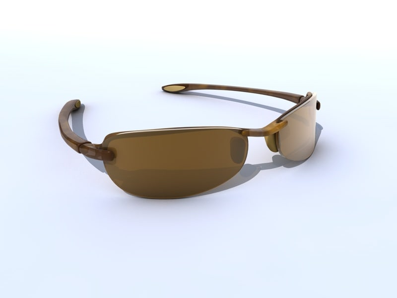sunglasses mj sport 3d model