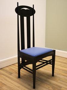 chair charles mackintosh max