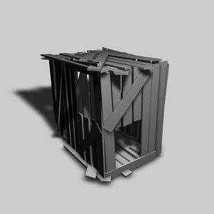 treehouse shack c4d