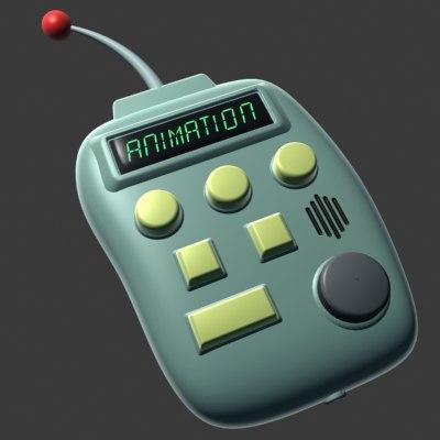 free 3ds mode cartoon remote control