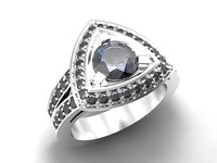 3ds ring jewelry wedding