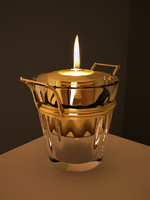 glass tea light 3d model