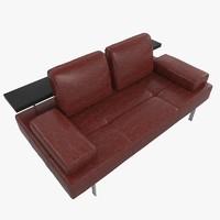 sofa rolf benz dono 3d model
