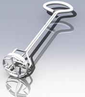 3dsmax cow branding iron