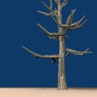 ready dead tree 3d model