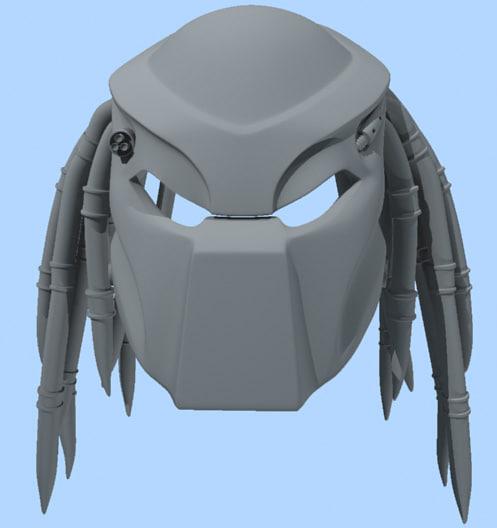 3d predator helmet