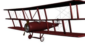 fokker world war 3d max