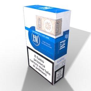 3d model lm blue