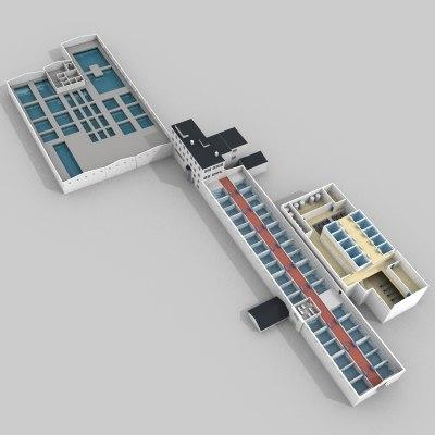water treatment plant c4d