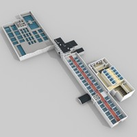 water treatment plant c4d