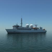 Dupuy de Lome French communication intelligence ship