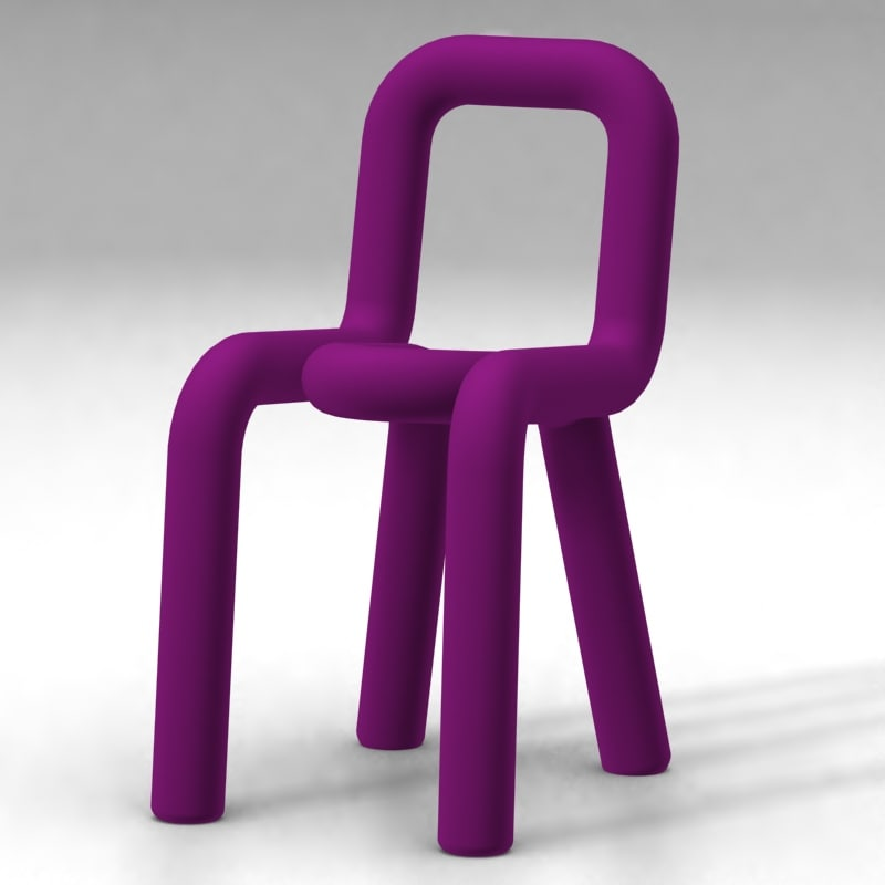 bold chair - big 3d model