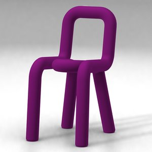 bold chair - big 3d model