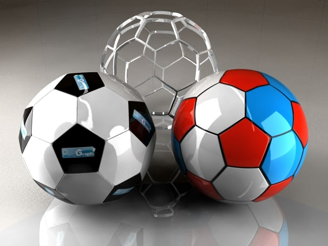 3 soccer ball 3d 3ds