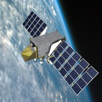 3d space satellite stss