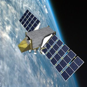 3d space satellite stss
