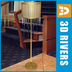 3ds max torchiere floor lamp