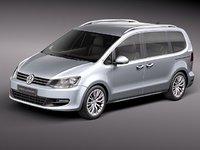 Volkswagen Sharan 2010--2012
