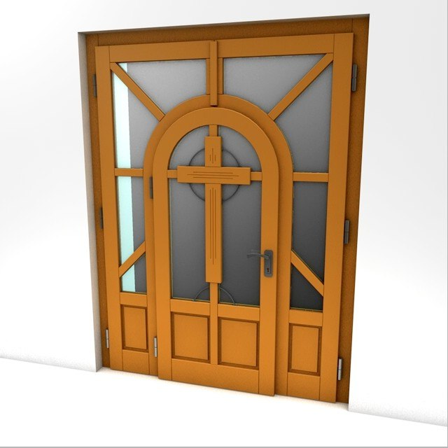 doors chapel 3ds