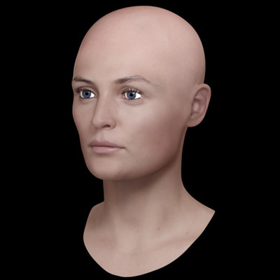ultra head 3d model