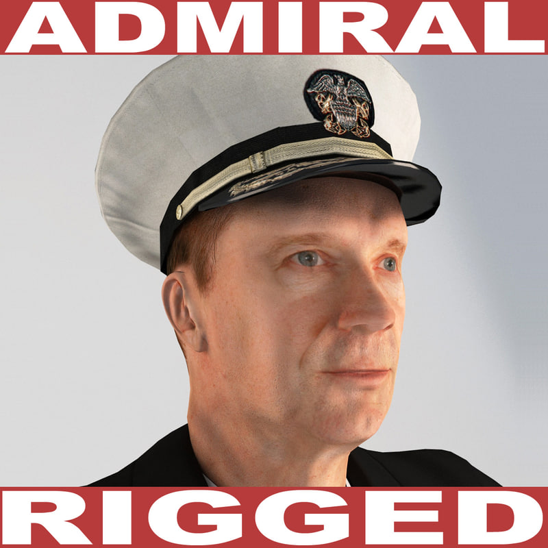 3d admiral rigged