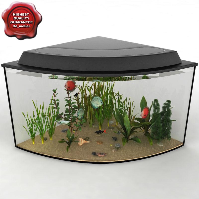 aquarium v9 3d model