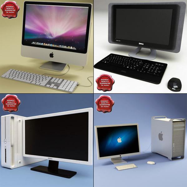 desktop pc 3d model
