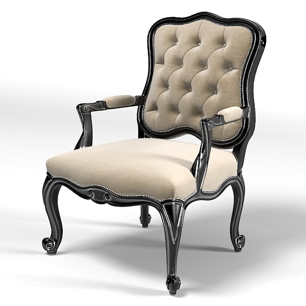 flai classic tufted 3d model