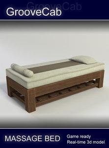massage bench obj
