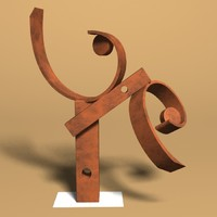 brent gann motion sculpture 3d model