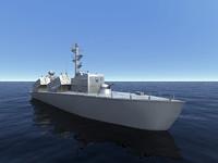 warship ORP Wladyslawowo