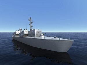 3ds polish warship orp wladyslawowo